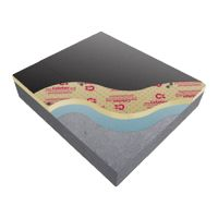 125mm Celotex Ta4000 Flat Roof Insulation 2400x1200 Pack Of 9 Insulation Cart